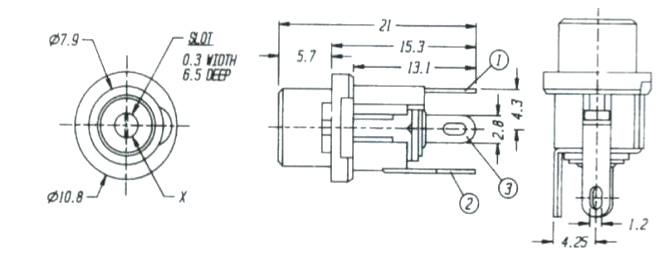 DC电源插座DS-025