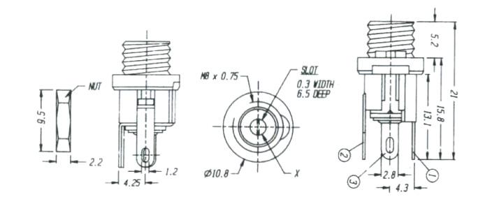 DC电源插座DS-026