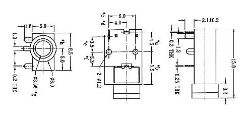 供应耳机插座st-623/拨动开关/船型开关